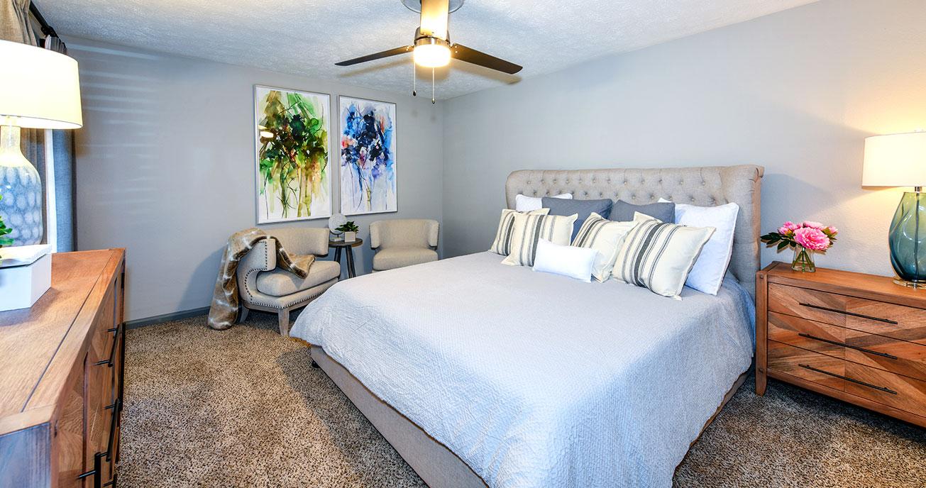 bedroom with furniture, 550 Abernathy, atlanta ga